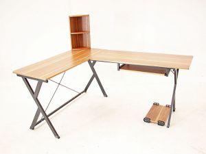 Working Desk โต๊ะทำงาน โต๊ะคอม แนว modern, indy, loft, minimal DIY แบบเข้ามุม 230x48x72.5cm FNT-03