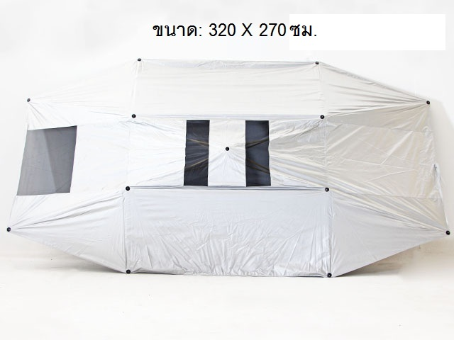 Car sunshade ร่มกันแดดรถยนต์ กันUV 270x320x20cm SHIFT T170805
