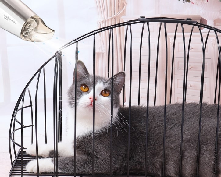 Cat Shower Cage กรงอาบน้ำแมว 14x52x27cm ST200618-7