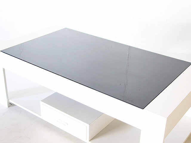 Coffee table โต๊ะกลางหน้ากระจก 120x60x40cm LS3