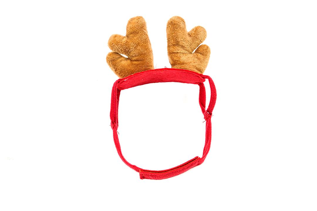 Cute pet hat หมวกแมว,หมวกสุนัข,หมวกแฟนซีขนาด 30 ซม.ลายกวางST210420-9