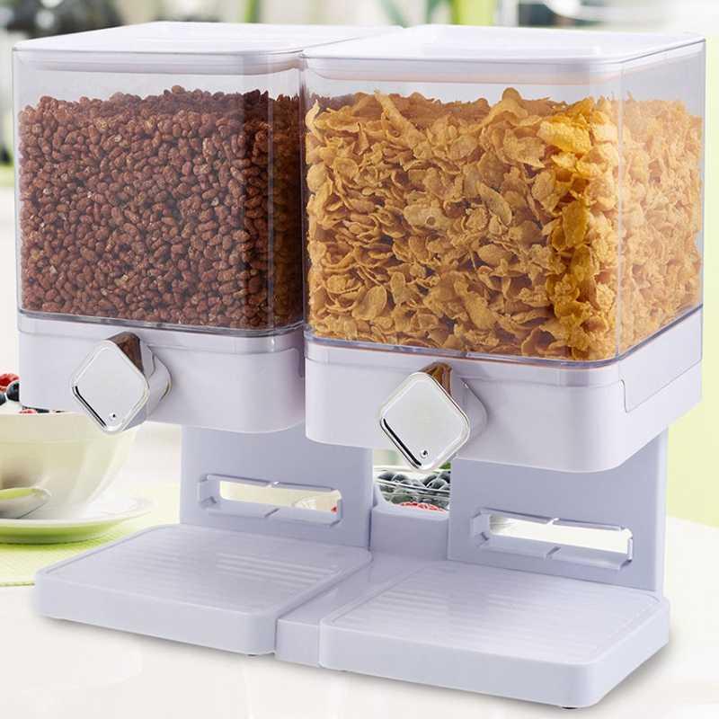 Dry food dispenser เครื่องจ่าย