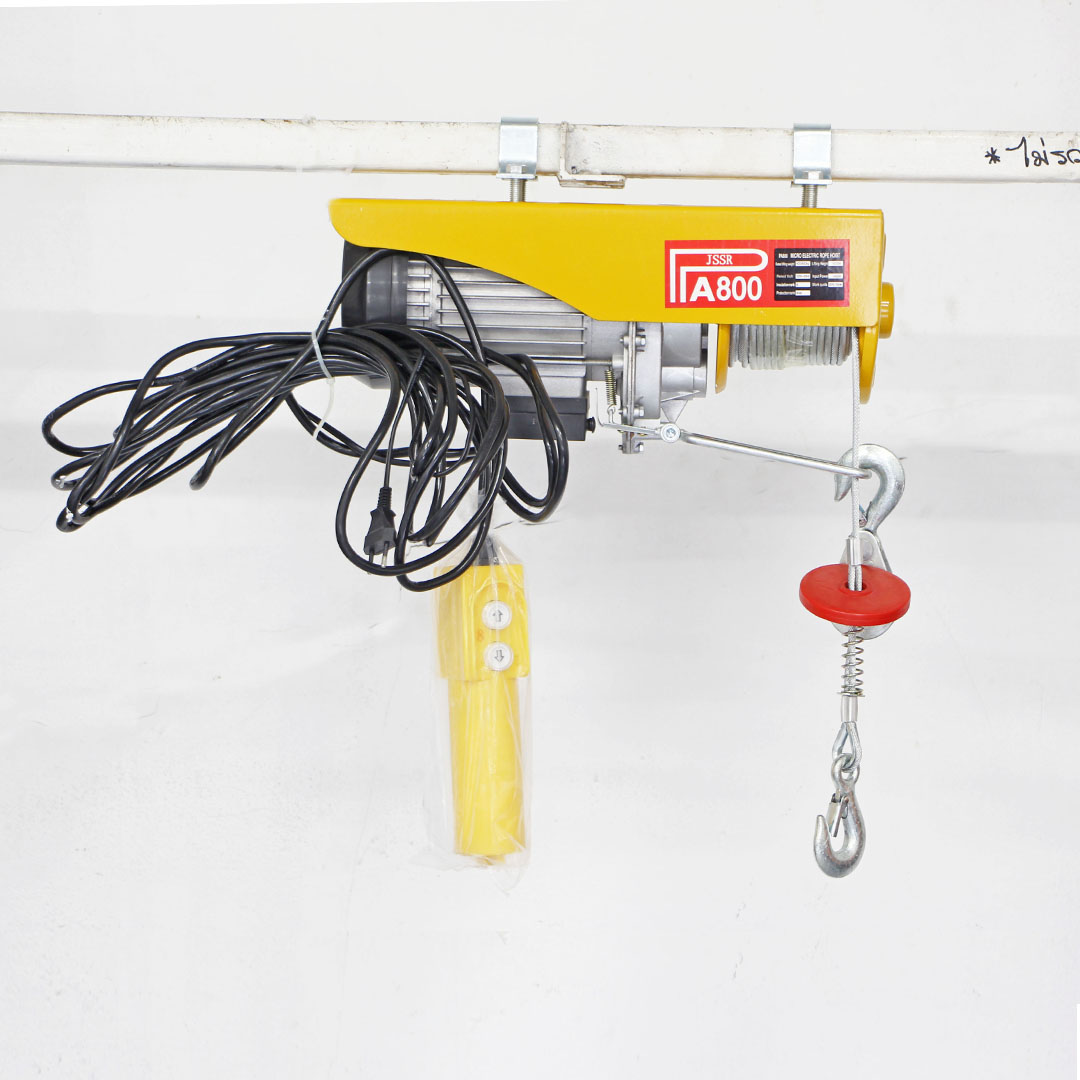 Electrical Hoist รอกไฟฟ้า รับน้ำหนักได้ 800kg สายCable 20m สายRemote cable 8m JSSR PA-800-8