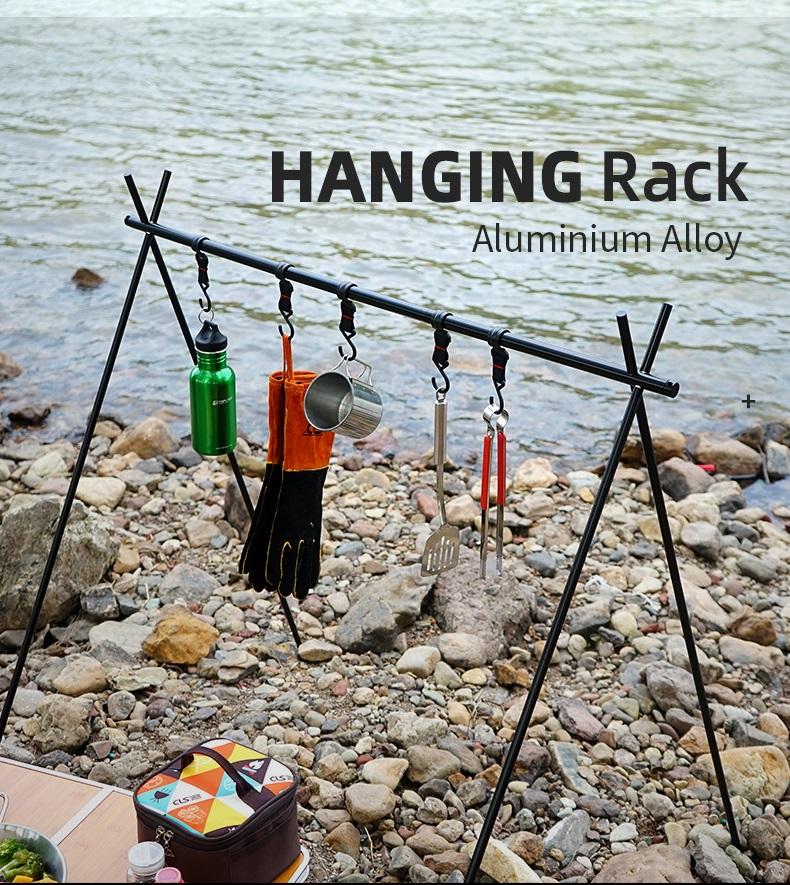 Hanging rack for camping ขาตั้งแขวนอุปกรณ์แคมป์ปิ้ง ขนาด 76.5x60x69cm รุ่น ST210512-11