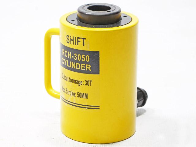 Hydraulic Cylinder กระบอกแม่แรงแบบมีรูทะลุแกนกลาง ขนาด30ตัน 50mm RCH-3050