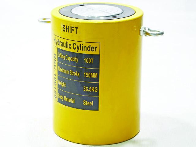 Hydraulic cylinder กระบอกแม่แรงแบบสูง 100ton 23x23x26cm สินค้าOEM เกรดส่งยุโรป อเมริกา RSC100150