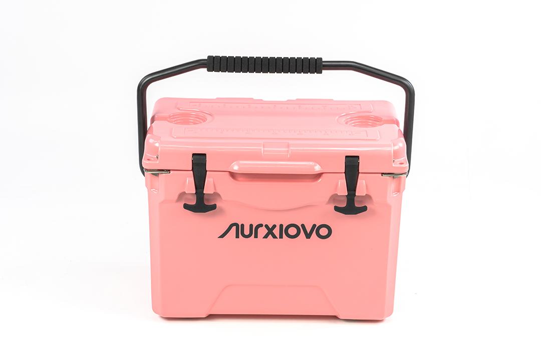 Ice Cooler Box กระติกน้ำแข็ง ถังแช่อเนกประสงค์ 25 ลิตร สีชมพู ST210512-2P