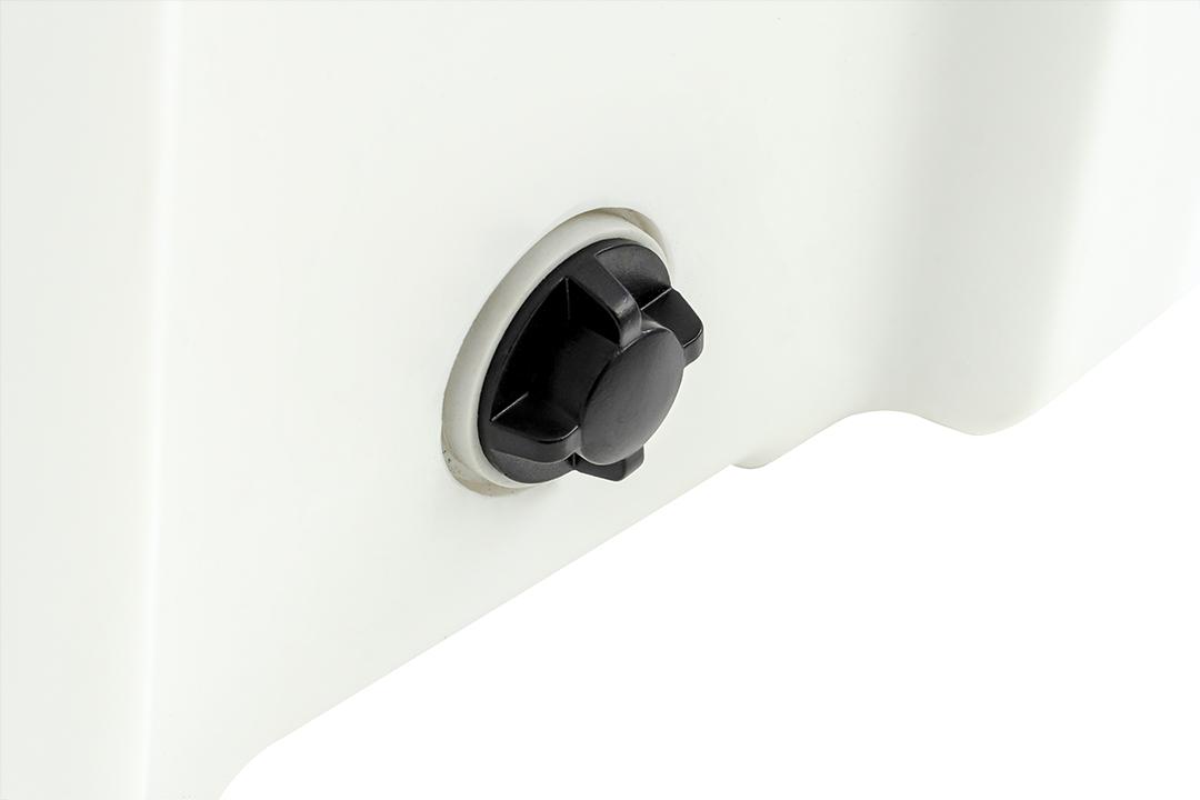 Ice cooler box กระติกน้ำแข็ง ถังแช่อเนกประสงค์ 25 ลิตร สีขาว ST210512-2W