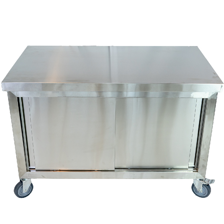 Kitchen table โต๊ะครัวสแตนแลส เกรด 201 70x70x70cm WTD-1560G
