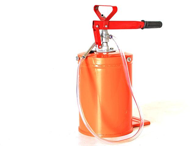 Manual Grease Oil Tank ถังเติมน้ำมันหรือของเหลวแบบมือโยก 10litre JF083
