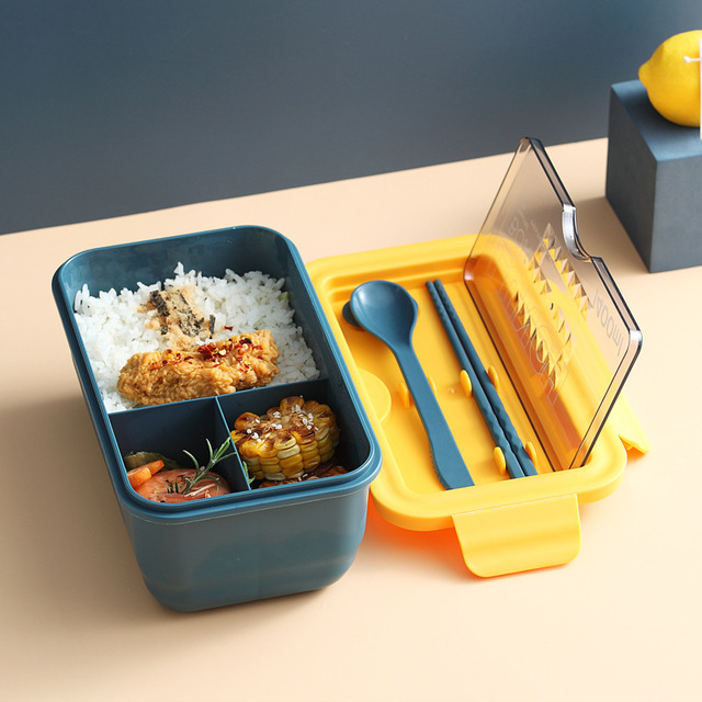 Microwavable lunch box กล่องข้าวไมโครเวฟฝาใส 1400 ML JR0420-10