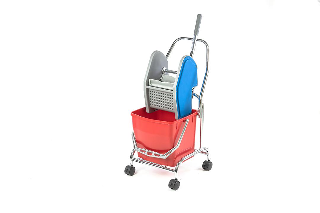 Mop bucket  ถังบีบน้ำไม้ถูพื้น 50 ลิตร แบบสองถัง รุ่น B-043