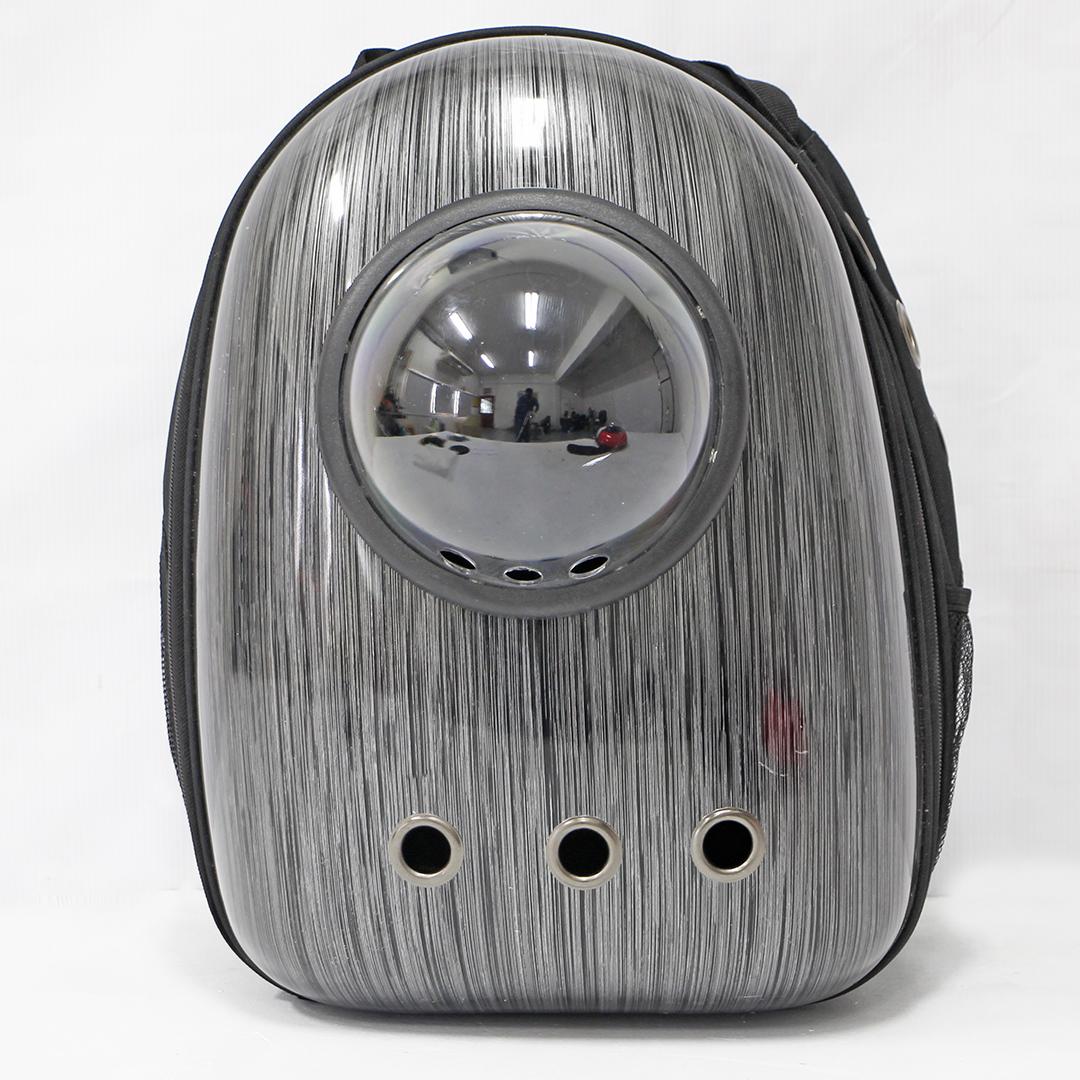 Pet Carrier Backpack กระเป๋าใส่สัตว์เลี้ยง สีเงิน 29x21.5x44.5cm LWF164001