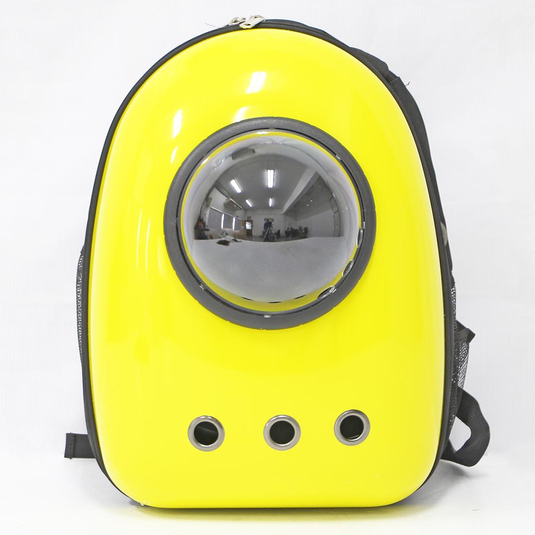 Pet Carrier Backpack กระเป๋าใส่สัตว์เลี้ยง สีเหลือง 29x21.5x44.5cm LWF164001