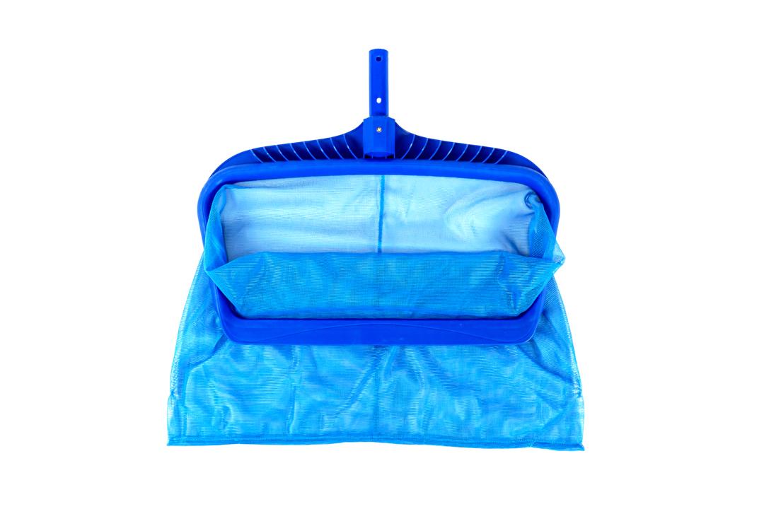 Pool Leaf Rake กระชอนตาข่ายตักใบไม้ในสระสีฟ้า 48x28x42cm ST20117-5