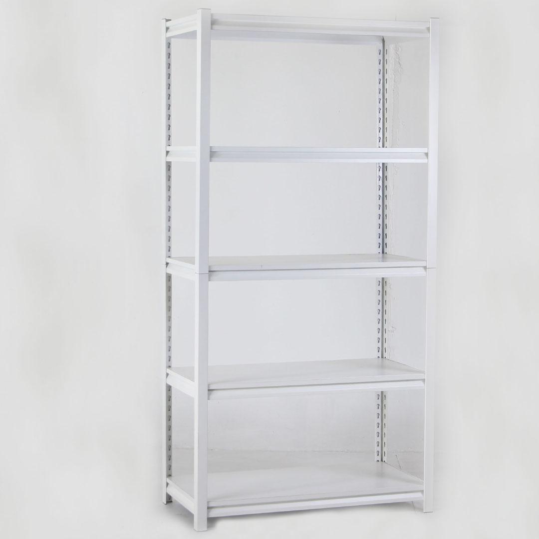 Shelf ชั้นวางของเหล็ก 5ชั้น 150KG/Layer 46x92x183cm สีขาว LS-001