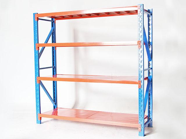 Shelf ชั้นวางของในโรงงาน 60x200x200cm สีส้ม น้ำเงิน TRB 200PLUS