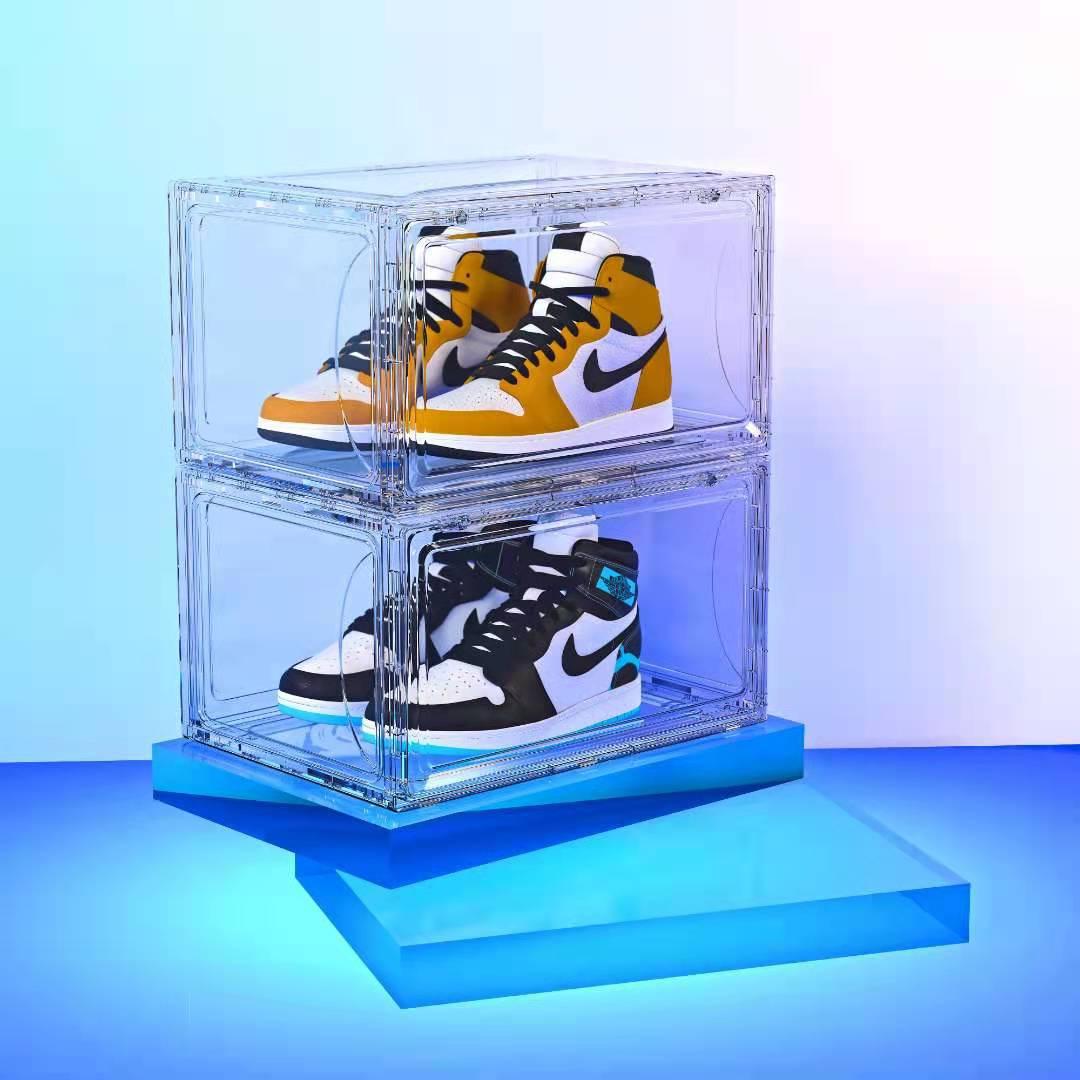 Shoe box กล่องเก็บรองเท้าแบบใส 26x37x17cm ST200224-12