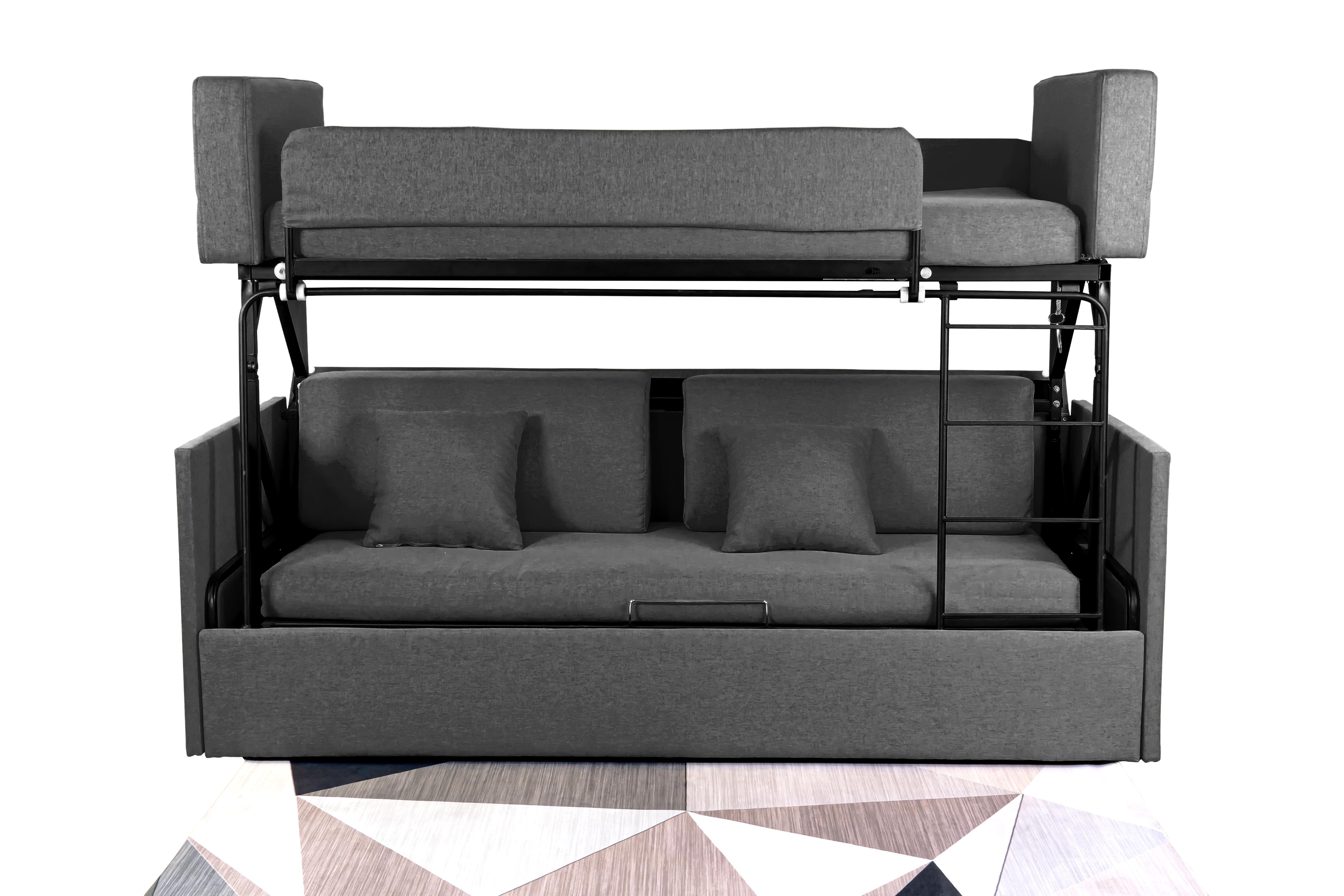 Sofabed โซฟาเตียง 2 ชั้น ผ้าลิ