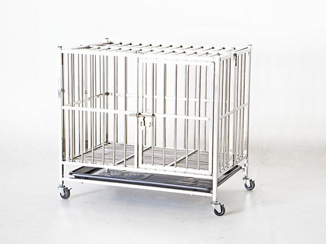 Stainless steel cage กรงสแตนเลสเกรด 201 JSSR JC78 ขนาด 78*52*71ซม.