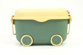 Storage box กล่องผ้าใส่ของอเนกประสงค์สีเทา ขนาด 34x23x13 cm JR0420-42