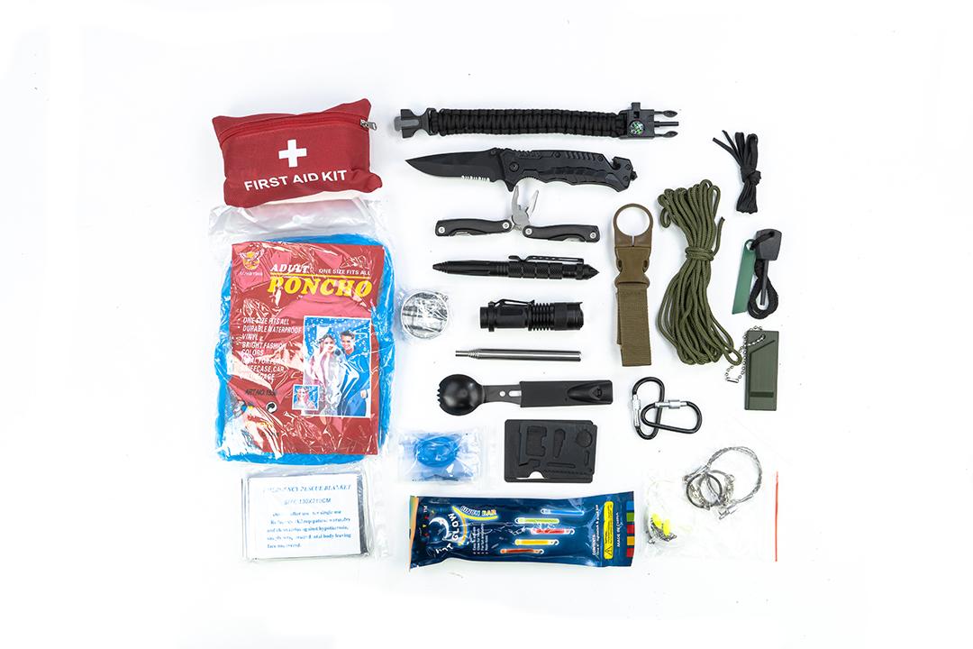 Survival kits ชุดอุปกรณ์เดินป่