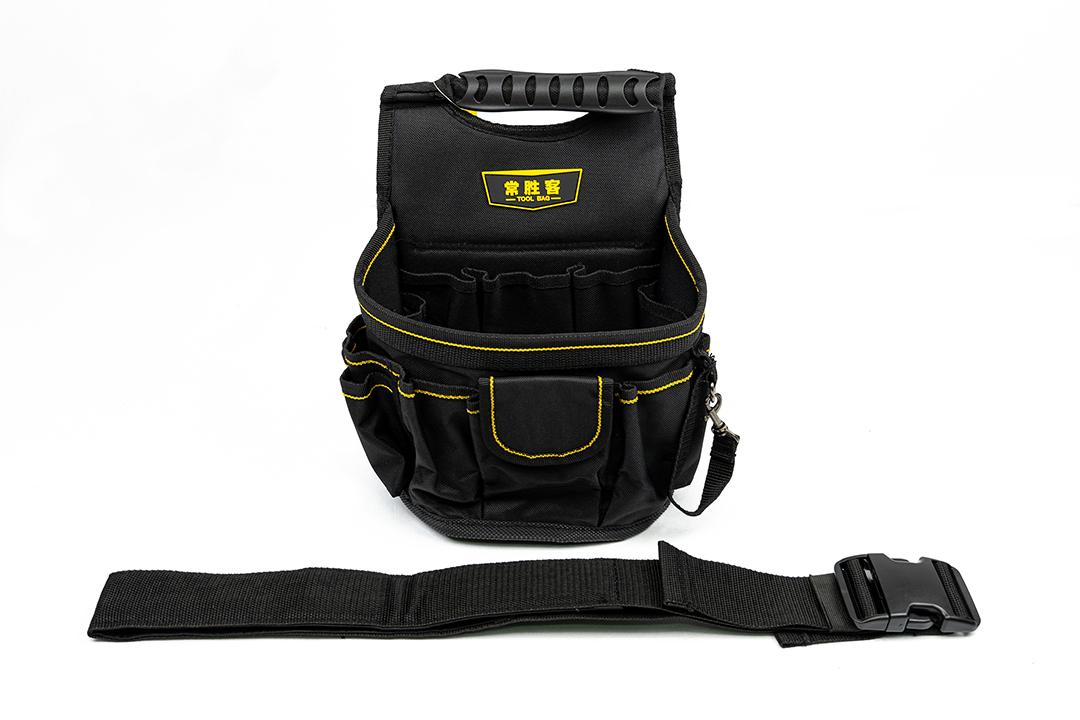 Tools bag กระเป๋าใส่เครื่องมือช่าง พร้อมสายคล้อง 14x21x18cm WH004