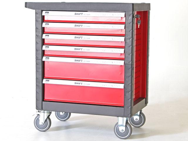 Tools cabinet ตู้เก็บเครื่องมือพร้อมเครืองมือช่าง 46x69x74cm สีแดง SHIFT YD-1048