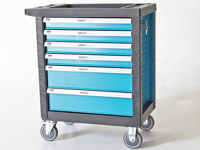 Tools cabinet ตู้เก็บเครื่องมือพร้อมเครืองมือช่าง 46x69x74cm สีฟ้า SHIFT YD-1048