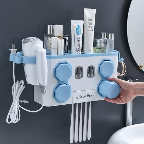 Toothpaste Dispensor ที่บีบยาสีฟัน ที่วางของในห้องน้ำ ST2083-28