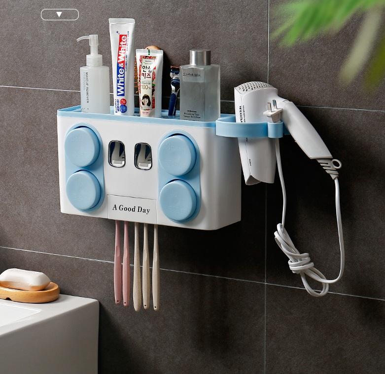 Toothpaste Dispensor ที่บีบยาสีฟัน ที่วางของในห้องน้ำ ST2083-26