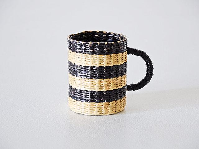 Weave Basket Cup Holder ตะกร้า