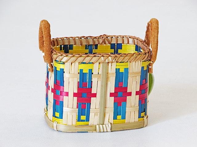 Weave Basket ตะกร้าสานไม้ไผ่เห
