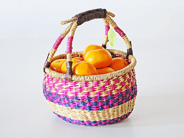 Weave Basket ตะกร้าหูหิ้วอเนกป