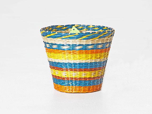 Weave Round Basket ตะกร้าสานหญ