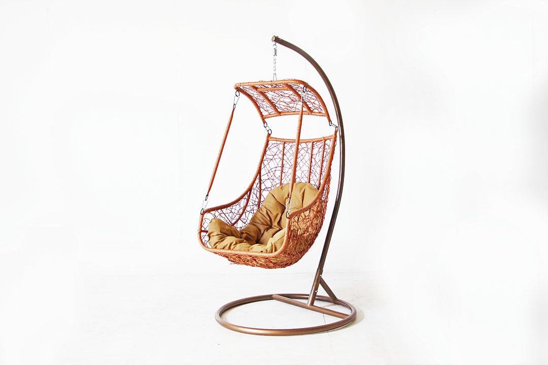 Weave Swing Chair เก้าอี้แขวน เก้าอี้รังนก โซฟาแขวน 75x124cm RT181120-14 (เบาะนั่งคละสี)