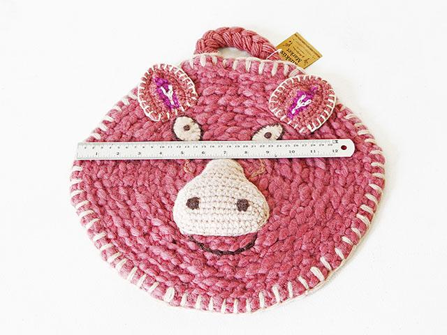 Wool Animal Decoration Mat ไหม