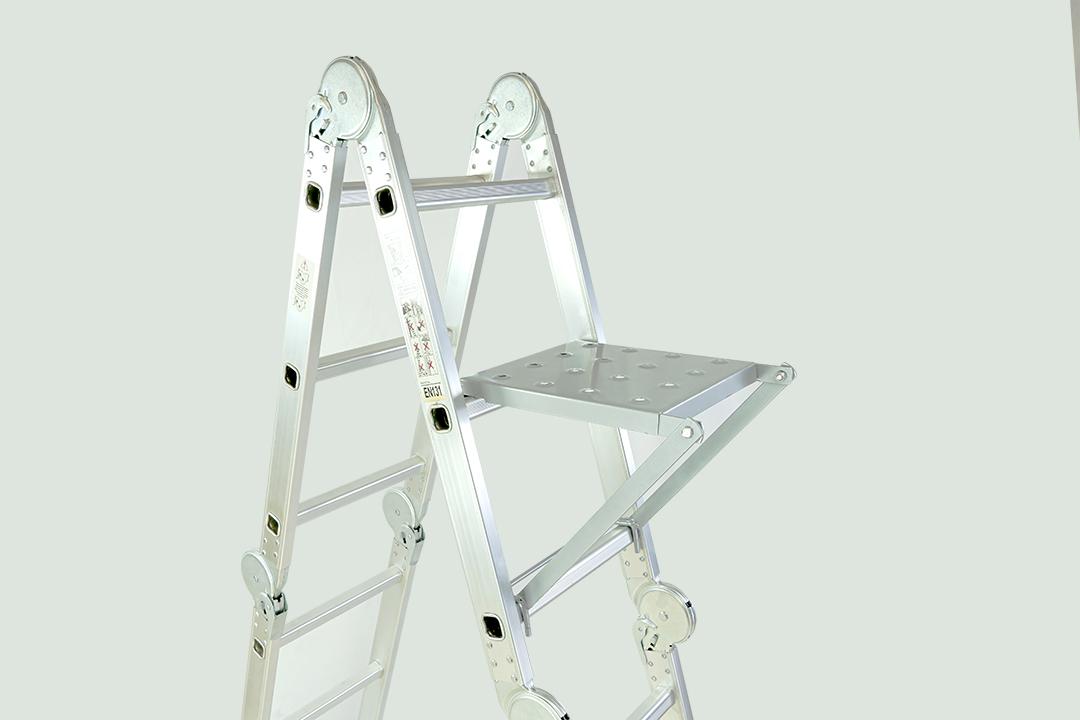 Work platform แผ่นเพลท เสริมขั้นเหยียบ อุปกรณ์เสริมบันไดสำหรับบันได 28x42x8cm SWG-Z